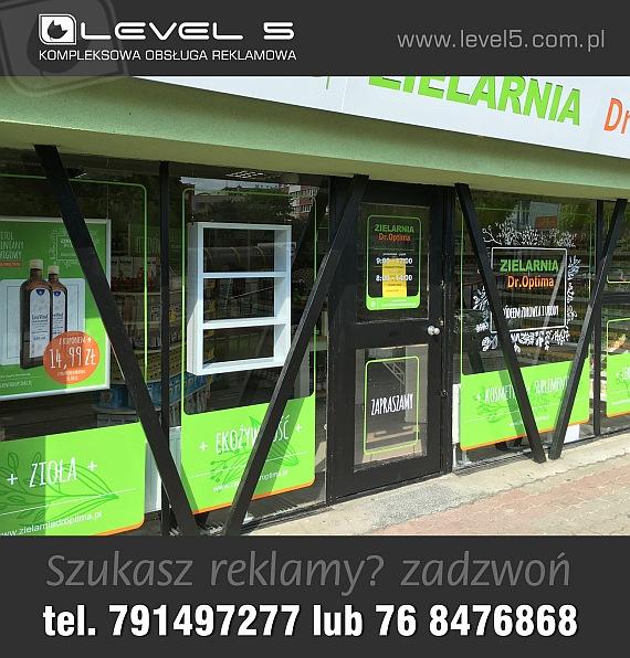 Oznakowanie, branding sklepów, placówek, firm